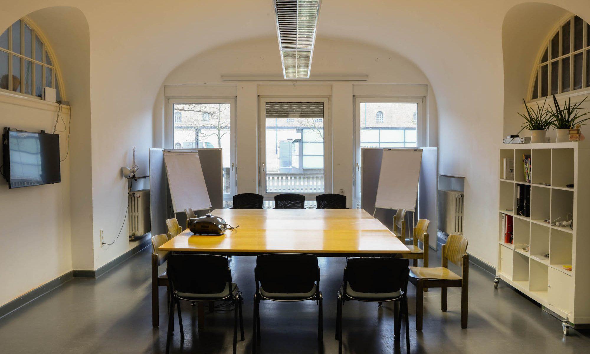 Der Konferenzraum im Coworking Würzburg